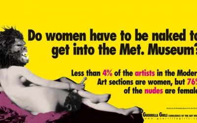 Faut-il être nue pour entrer au musée ?