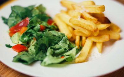 Frites ou salade ?