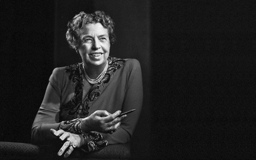 Honneur à la première dame. Eleanor Roosevelt.